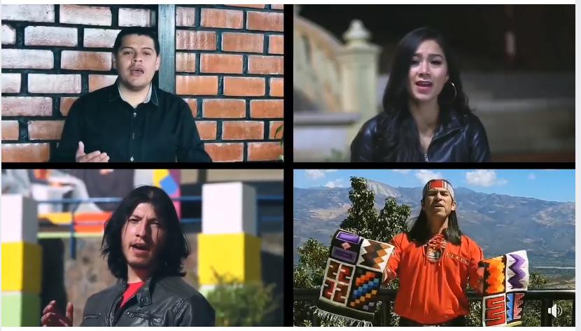 Artistas cajabambinos interpretan el himno a Cajabamba (Videoclip)