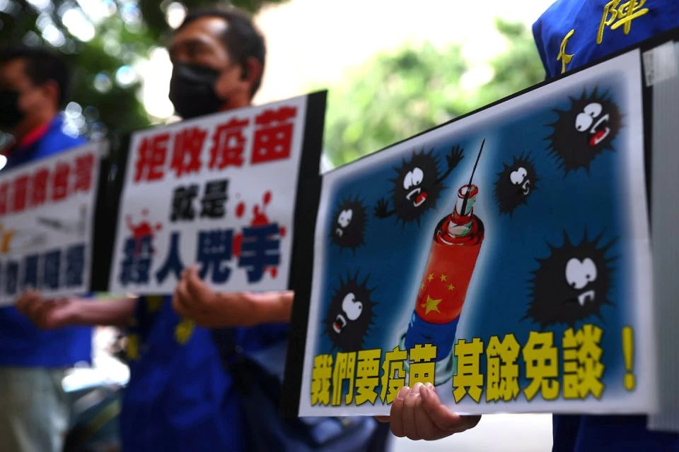 China invites Taiwanese to come to get vaccinated against COVID-19