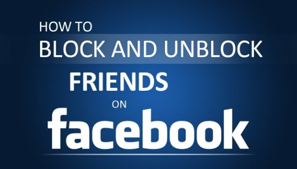 how do you block and unblock friends on facebook