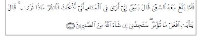 Kisah Qurban Nabi Ibrahim dan Nabi Ismail
