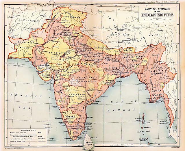 20वीं बीसवीं सदी का भारत