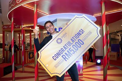 The Golden Ticket Suria KLCC Dan Mesra Mall