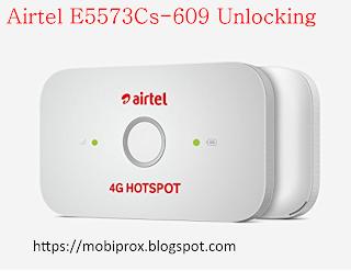 airtel E5573CS-609 POCKET WIFI