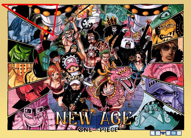 kaidou and big mom face on cover page