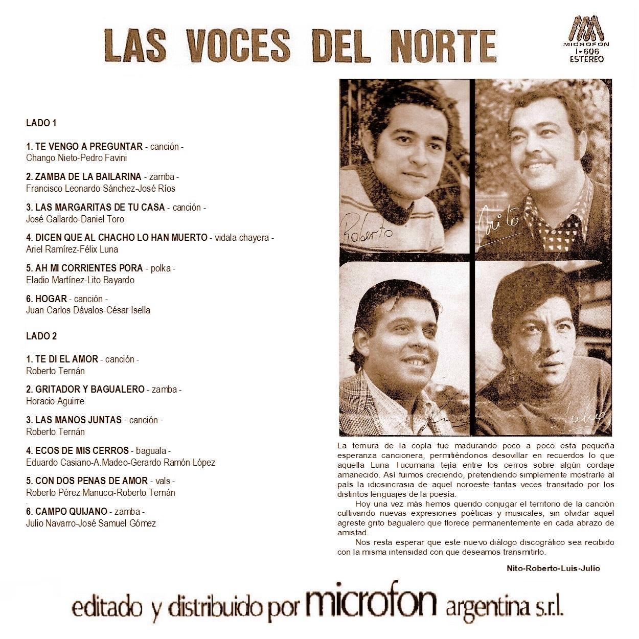 Folklore del noa las voces del norte las voces del - Microcementos del norte ...