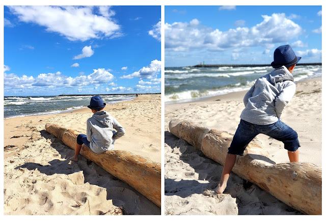 Grzybowo, Darłowo i Ustronie Morskie - czy warto pojechać tam z dzieckiem - podróże z dzieckiem - Bałtyk z dzieckiem - Morze Bałtyckie z dzieckiem - aktywnie z dzieckiem - atrakcje dla dzieci nad morzem
