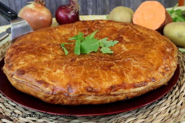 Empanada de Hojaldre relleno salado (VIDEORECETA)