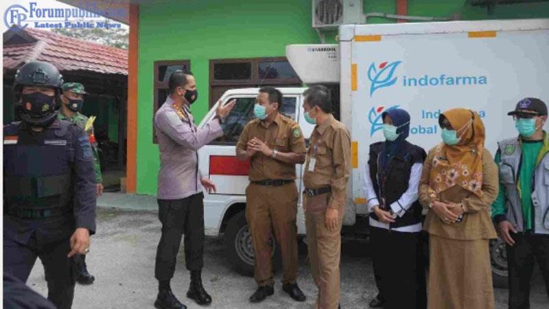 3960 Vaksin COVID-19 Sinovac Tiba di Dumai dari Pemprov Riau