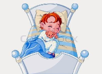 kartun tidur