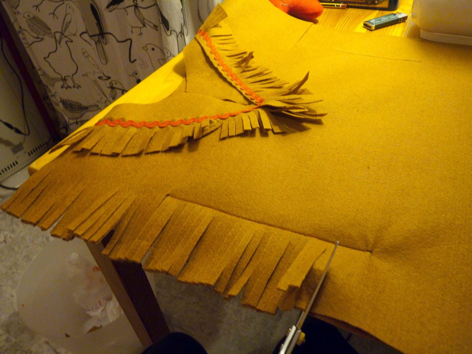 Las Cositas De Marga Como Hacer Un Disfraz De Indio Para Nino Paso - Hacer-disfraz-india