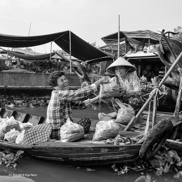 Happy selling in Mekong delta