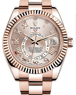 Pajak Rolex (Rolex Sky-Dweller-42mm-Everose Gold-Full-Set-326935) RM80,000
