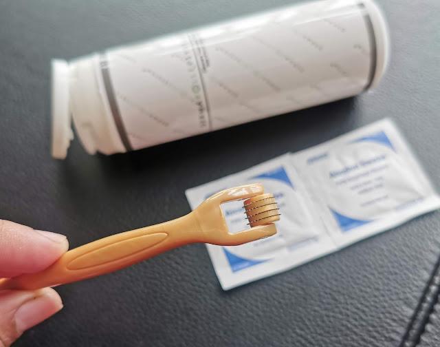 dermaroller needles 0.5 mm