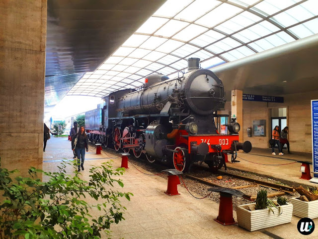 Railway station train, Cagliari | Sardinia, Italy | wayamaya