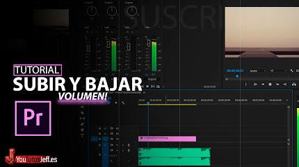Subir y Bajar Volumen de Audio en Premiere Pro👌🧐
