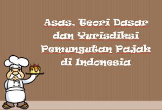 Asas, Teori Dasar dan Yurisdiksi Pemungutan Pajak di Indonesia