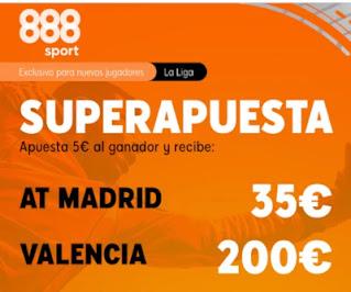 888sport superapuesta Atletico vs Valencia 24 enero 2021