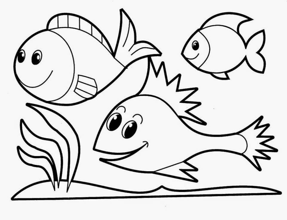 Mewarnai Gambar Ikan Cupang Hias Dan Laga