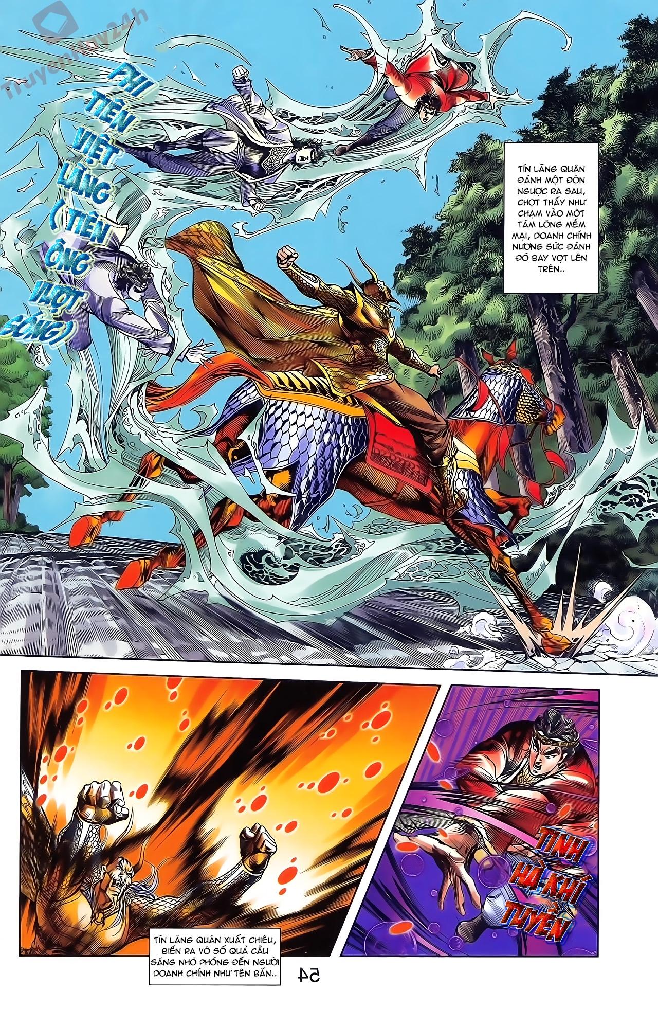 Tần Vương Doanh Chính chapter 49 trang 8