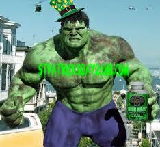 Hulk st patrick's day meme 2018