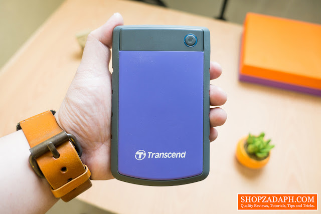 transcend storejet 25h3 review
