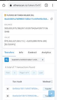 Ini Bukti Transfer Miliaran dari Shiba Inu ke Pendiri Ethereum