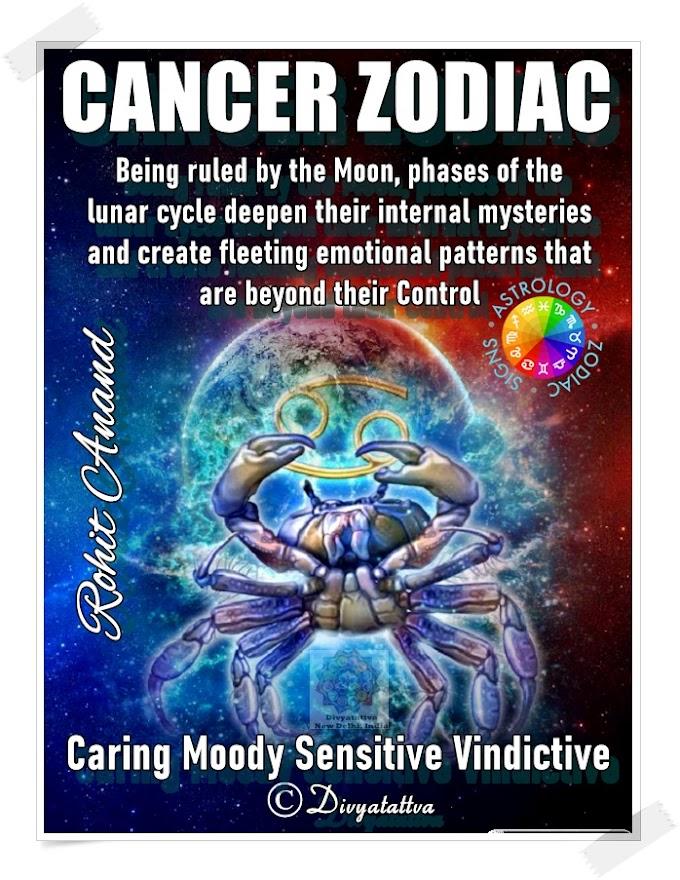 Cancer Zodiac Signs Personality  Karka Rashi Love Horoscope Online