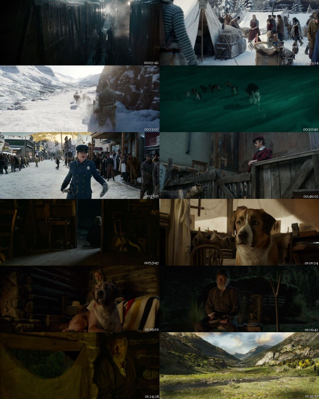 The Call Of The Wild 2020 HDRip 720p [English]