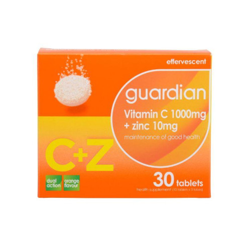 guardian Vitamin C 1000mg + Zinc10mg (MAL16085003NC)