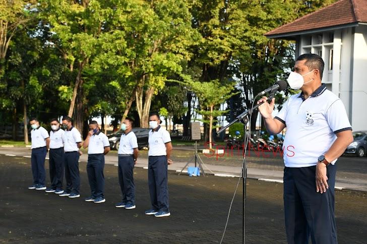 Danlantamal VI, Mental Prajurit TNI AL Harus Tangguh dan Siap Jalankan Kewajiban