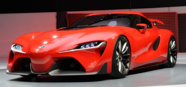 Toyota FT1 Top Speed