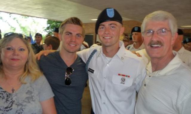 Myles Thompson Military