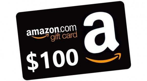 Sorteio de um Gift Card da Amazon no valor de $100 dólares
