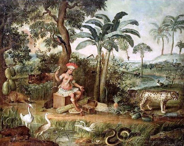 O mito do bom selvagem