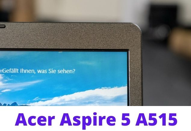 Acer Aspire 5 with Ryzen design