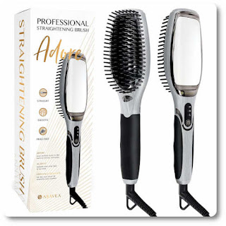 AsaVea Hair Straightening Brush