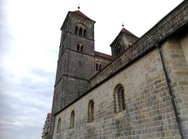 Quedlinburg - Stiftskirche auf dem Schlossberg