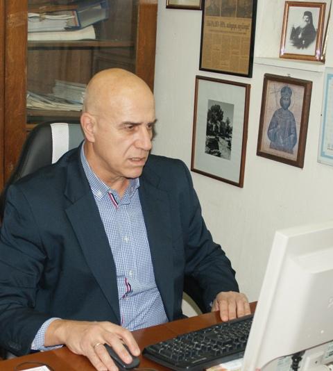 Τιμητική διάκριση για τον παλαίμαχο δημοσιογράφο Γιώργος Ν. Μουσταΐρα