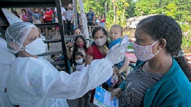 death toll in Latin America from the novel coronavirus has surpassed 200,000
