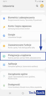 Samsung Galaxy S9+ Pielęgnacja Urządzenia