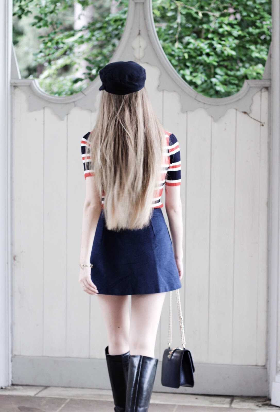 Baker Boy Hat Blog Styling Long Hair