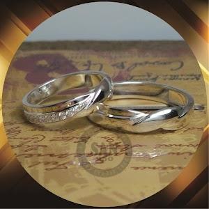 cincin emasputih paladium p5782