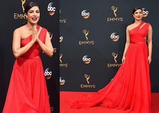 Priyanka Chopra sets red carpet on fire