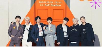 Konser BTS Permission to Dance di Stadion SoFI AS