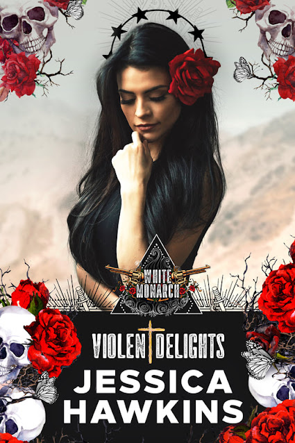 Violent Delights by Jessica Hawkins Front Cover