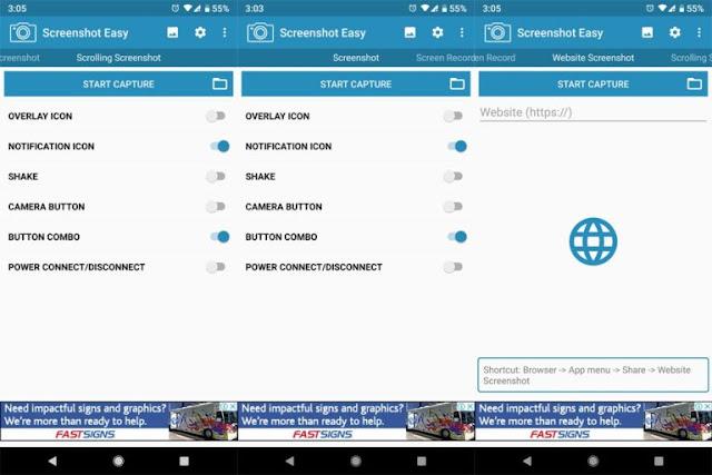 Cara Screenshot Samsung  Galaxy A10s / A20s / A30s / A50s 6