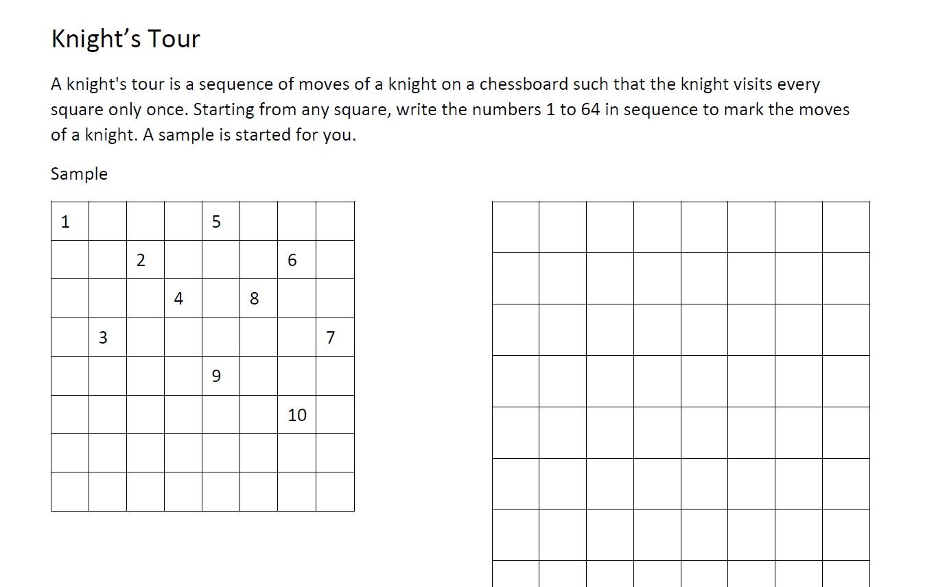 Chess Skills Calculate