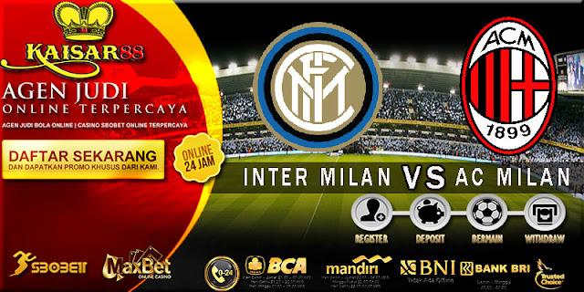 PREDIKSI TEBAK SKOR JITU LIGA ITALIAN SERIE A INTER MILAN VS AC MILAN 16 OKTOBER 2017