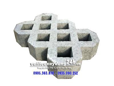 Gạch block tự chèn 8 lỗ