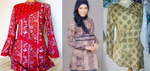contoh baju kurung batik orang gemuk